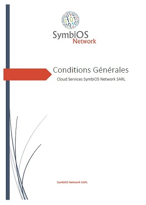 Conditions Générales<br/>Cloud Services